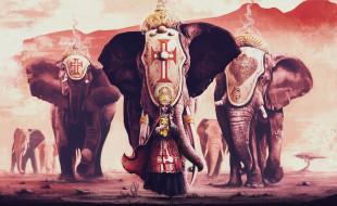 wildlife cortege, крест, слоны, final adjustment better, Golden Ticket Challenge Entry