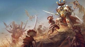 Warhammer 40 000, xenos, tyranids, battle, White Scars, space marines