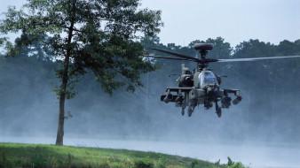 apache, ударный вертолет, ah-64, армия сша, природа, mc donnell douglas