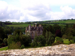blarney castle, города, замки ирландии, blarney, castle