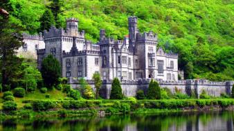 kylemore castle, города, замки ирландии, kylemore, castle