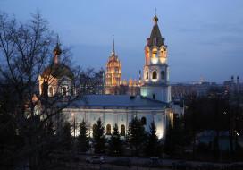 зодчество, храм святителя николая, храм на трех горах, москва, пресненский район