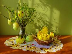 яйца, праздничные, пасха