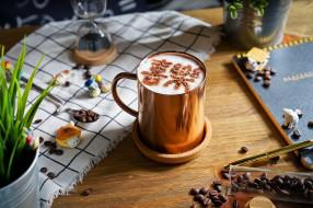 обои для рабочего стола 2048x1365 еда, кофе,  кофейные зёрна, снедь