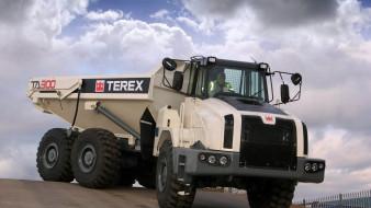 грузовик, кабина, кузов, terex ta300, тяжелый самосвал