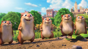 the nut job 2,  nutty by nature, мультфильмы, персонажи