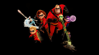 мультфильмы, incredibles 2, incredibles, 2