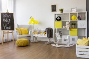 интерьер, детская комната, детская, кроватка, комната, игрушки, доска