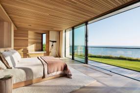 интерьер, спальня, комната, peconic, house, and, barn