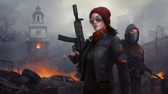 видео игры, homefront,  the revolution, шутер, action, the, revolution