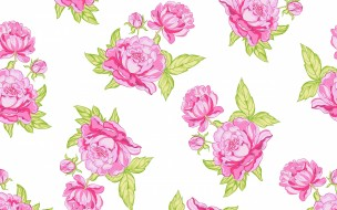текстура, background, rose, розы, seamless