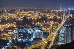 hong kong, города, гонконг , китай, простор