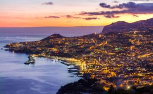 madeira,  portugal, города, - панорамы, простор