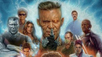 дэдпул 2 , 2018, рисованное, кино, movies, deadpool, 2, постер, фильмы, персонажи, дэдпул, джош, бролин, райан, рейнольдс, фантастика, комедия