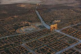 город, лептис-магна, wallhaven, пейзаж, руины, архитектура, ливия