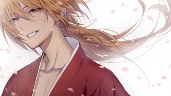 аниме, rurouni kenshin, парень
