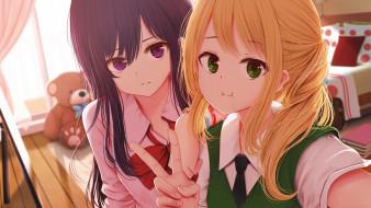 аниме, citrus, девушки