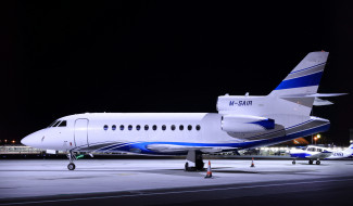 dassault falcon-900b, авиация, пассажирские самолёты, аэроплан