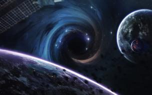 звезды, галактика, планеты, вселенная