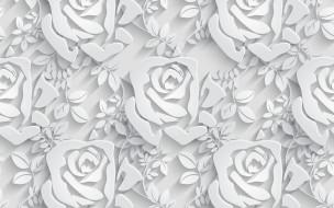 pattern, бесшовный, Floral, seamless, розы, Цветы, паттерн