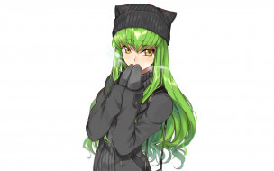 аниме, code geass, фон, взгляд, девушка