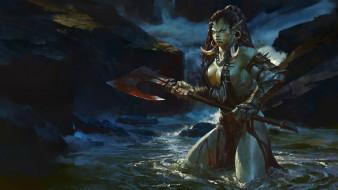 warcraft, Bayard Wu, orc, орк