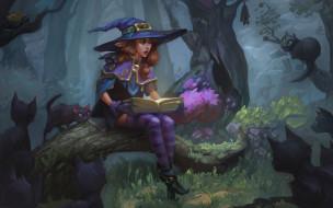 арт, Fairy Tale, Veronika Firsova, книга, сказка, лес, эльф, фэнтези, кот, детская