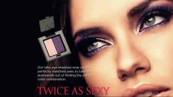 бренды, anna sui, макияж, тени, лицо, модель, адриана, лима