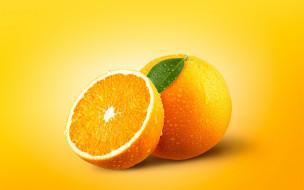 цитрус, макро, апельсин
