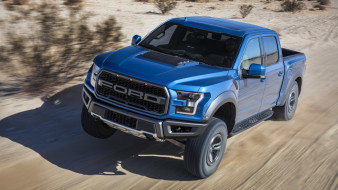 ford f-150 raptor 2019, автомобили, ford, raptor, f-150, blue, 2019, внедорожник