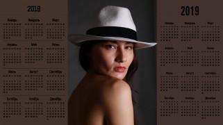 взгляд, лицо, шляпа