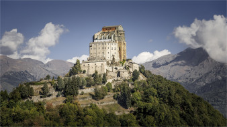 sacra di san michele, города, турин , италия, простор