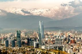 santiago, города, сантьяго , Чили, простор
