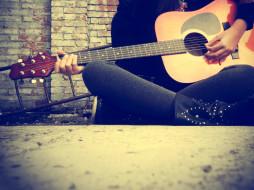 гитара, руки
