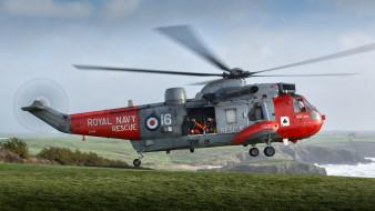 westland sea king, авиация, вертолёты, вертушка