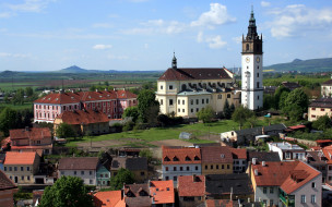 Litomerice, Czech Republic cathedral St Stephen