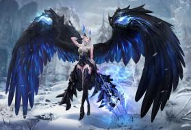 фэнтези, ангелы, крылья