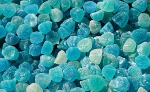 мармелад, голубой, россыпь, желе, конфеты