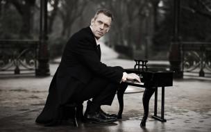мужчина, пианино