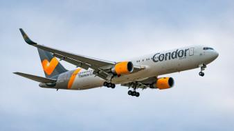 boeing 767-330, авиация, пассажирские самолёты, авиалайнер