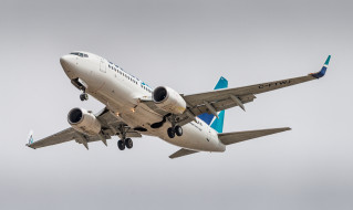 boeing 737-7ct, авиация, пассажирские самолёты, авиалайнер