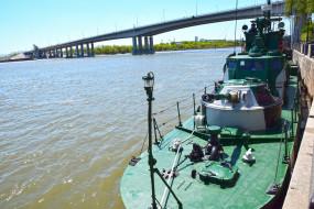 водоем, мост