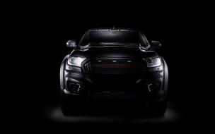темный фон, Ford Ranger