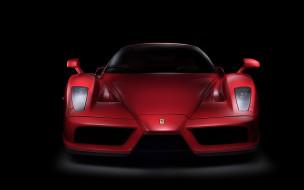 Ferrari Enzo, темный фон