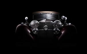 темный фон, Classic Mercedes-Benz