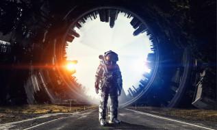 фон, космонавт