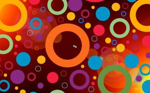векторная графика, графика , graphics, цвета, фон, узор, круги