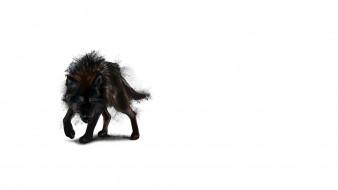 рисованное, минимализм, art, морда, зло, шерсть, матерый, хищник, волк, оборотень, kajenna