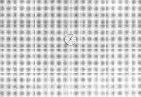 рисованное, минимализм, время, часы, стена
