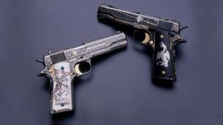 Гравировка, оружие, М1911, пистолет, pistol, gun, кастом, Custom, 1911, engraving, M1911, weapon